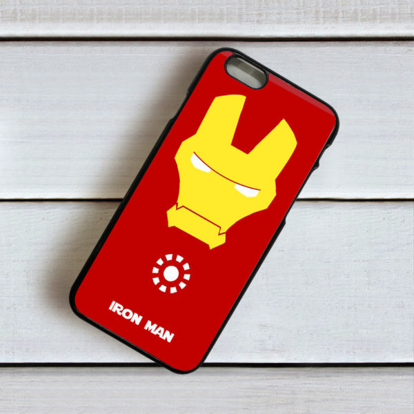 Iphone Ironman Mobile Back Cover D2