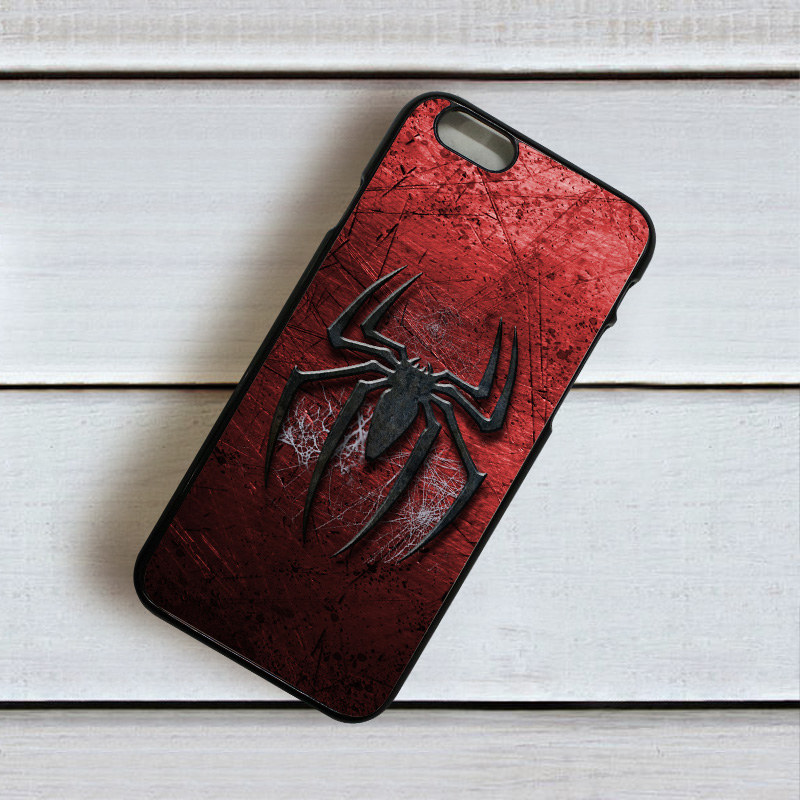 buy popular 8076a d0333 Iphone Spiderman Mobile Back Cover D1